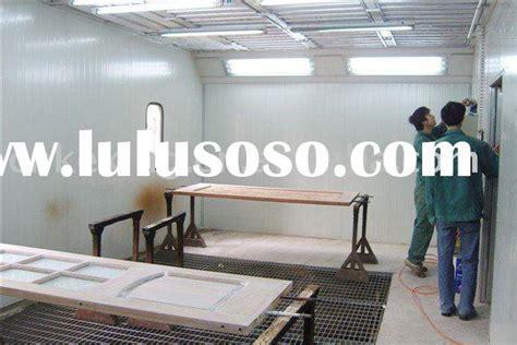 wood finishing spray booth