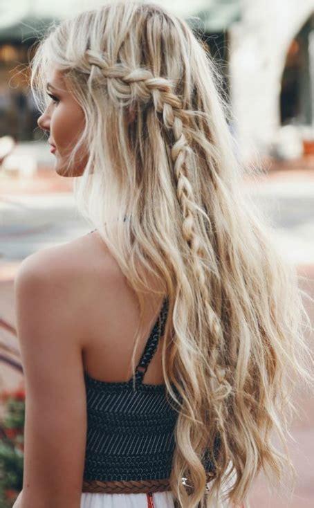 beach waves braid glam peinados trenza suelto