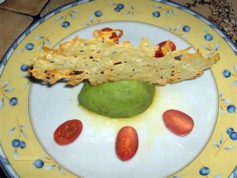 Recette Tuile Nature Facile by Recette D Avocat Nature Et Sa Tuile De Parmesan