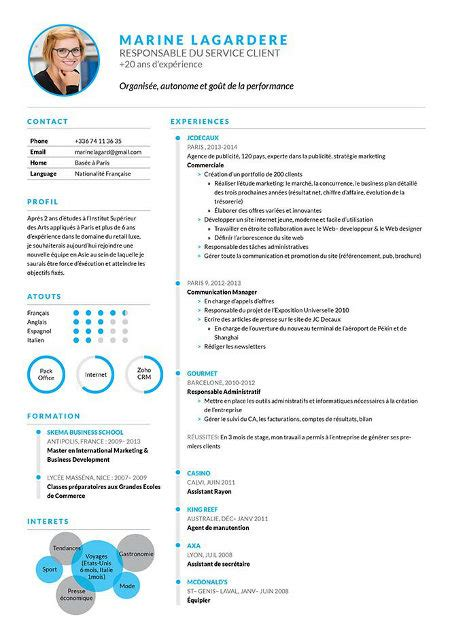 Comment Présenter Un Cv Exemple by Comment Presenter Un Cv D Etudiant Modele De Cv