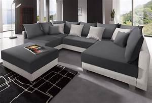 Couch U Form Modern : collection ab wohnlandschaft inklusive hocker otto ~ Bigdaddyawards.com Haus und Dekorationen