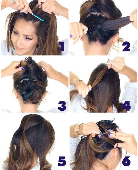 der besten ideen fuer festliche frisuren lange haare