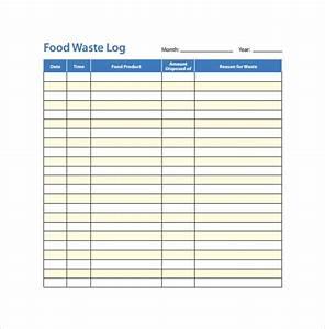 Free 16 Sample Printable Food Log Templates In Pdf Ms