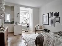 interesting minimalist small apartment ideas Decorar un monoambiente pequeño de 23 metros²
