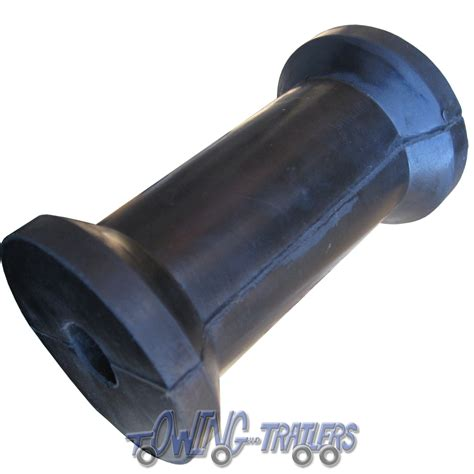 Boat Trailer Parts Rollers by 6x Boat Trailer Parts 127mm Flat Keel Roller For 19mm Spindle