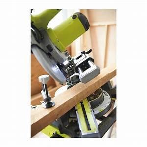 RYOBI Scie électrique a coupe d'onglet radiale EMS216LSG