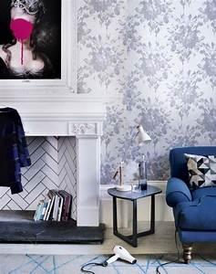 papier peint deco pour un interiuer moderne en une With deco salon papier peint