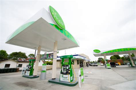 At Propel's clean fuel stations, drivers can 'fill 'er up ...