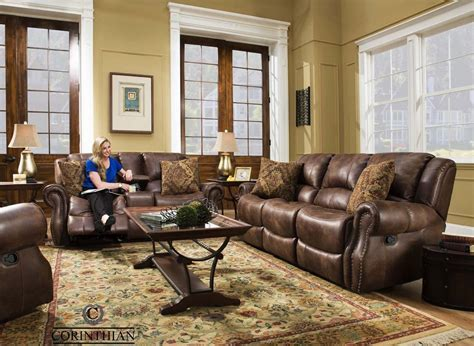 Waylon Mocha Glider Reclining Sofa, Loveseat and Recliner