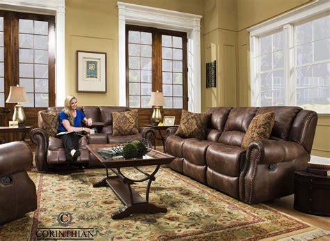 Waylon Mocha Glider Reclining Sofa, Loveseat and Recliner