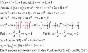Funktionsgleichung Berechnen : l sungen geraden und parabeln zur vorbereitung einer klassenarbeit i ~ Themetempest.com Abrechnung