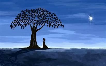 Bodhi Wallpapers Tree Buddha Zen Linux Under