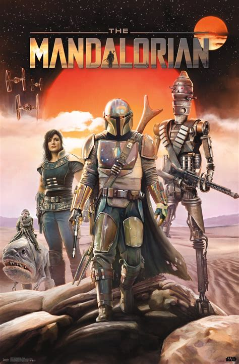 Two New Star Wars: The Mandalorian Posters Revealed | What ...