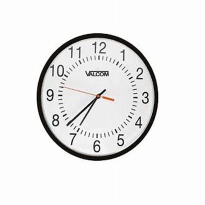 Clock Vip Analog Analogue Valcom A16a Wired