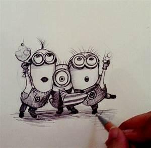 minions amazing drawing   Drawings   Pinterest   Minions ...