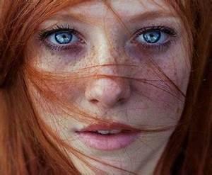 Les Yeux Les Plus Rare : etre roux aux yeux bleus est la combinaison la plus rare au monde toluna ~ Nature-et-papiers.com Idées de Décoration