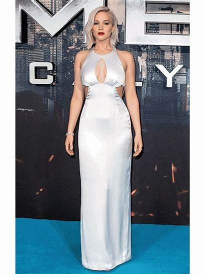 Jennifer Lawrence Gifs Apocalypse Boobs Gown Premiere