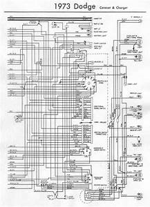 Electrical Wiring Diagram Of 1973 Dodge Coronet And Charger Part 1  U2013 Auto