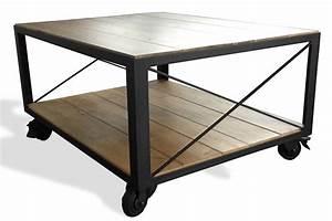 Table Basse Relevable Fly : table basse a roulette ~ Teatrodelosmanantiales.com Idées de Décoration