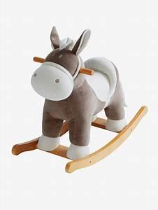 Cheval à Bascule Bebe : cheval bascule multicolore vertbaudet ~ Teatrodelosmanantiales.com Idées de Décoration