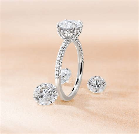9 stunning engagement rings with surprise details brilliant earth