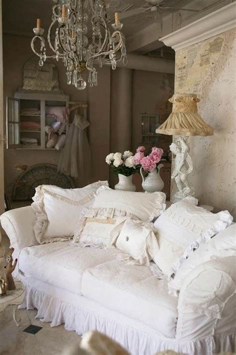 canapé shabby chic 25 shabby chic style living room design ideas decoration