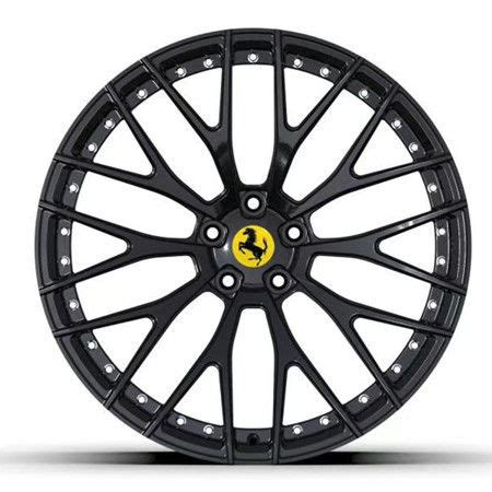 The car is an update to the 488 with notable exterior and performance changes. Black Forged Monoblock Rim Custom Ferrari 458 488 812 599 ...