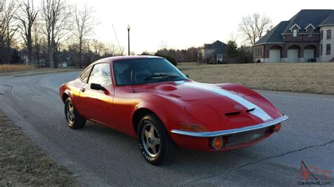 1972 opel gt 1 9 liter automatic and clean
