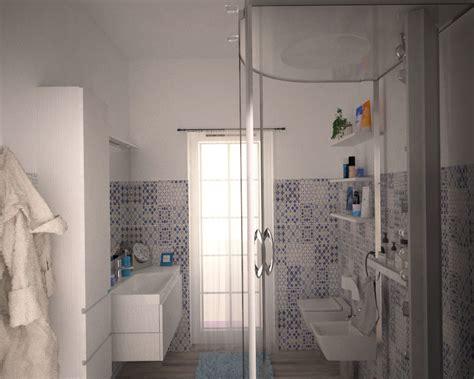 bagno maioliche appartamento contemporaneo idee interior designer
