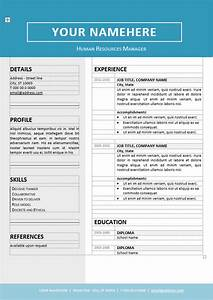 jordaan clean resume template With free editable resume templates