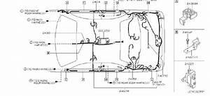 Infiniti M45 Bracket Connector  Engine  Harness  Harn