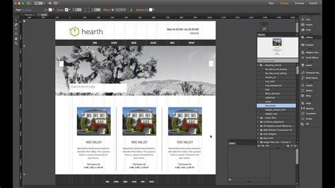 muse jam adobe muse  building  website  scratch