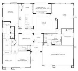 single storey house plans floorplan 2 3 4 bedrooms 3 bathrooms 3400 square home square