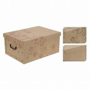 Klappbox Mit Deckel : aufbewahrungsbox zum aufklappen aus pappe mit deckel und griffen klappbox kiste ~ Markanthonyermac.com Haus und Dekorationen