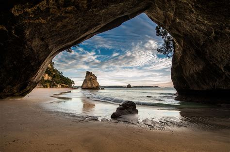 Cathedral Cove | Cathedral cove, Beautiful places to visit ...