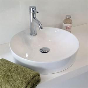 Vasque à Poser Salle De Bain : retrouvez la collection de vasque extra fine en 46 cm ~ Edinachiropracticcenter.com Idées de Décoration