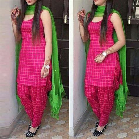 blouse rayon cotton self design plain patiala suit pink zipker
