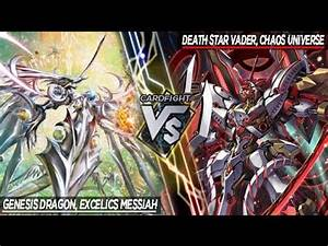 Cardfight!! Vanguard | Excelics Messiah VS Chaos Universe ...