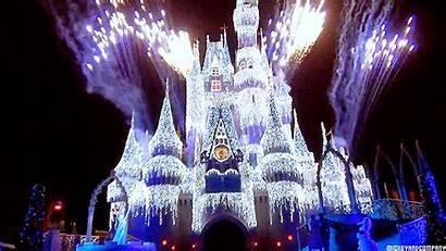 Disney Castle Gifs Giphy Cinderella Disneyland Walt