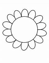 Writing Flower Outline Coloring Template Sheet Lines Paper Board Bulletin Spring Project Proje Printables Ratings Subject Teacherspayteachers sketch template