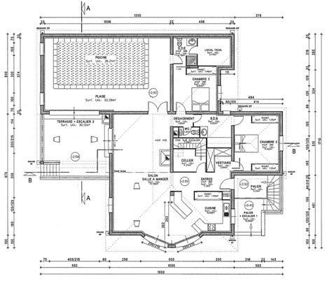 plan de cuisine gratuit pdf cuisine gorgeous plan maison moderne d 39 architecte gratuit
