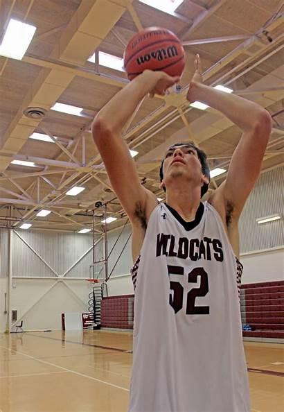 Basketball Player Rouge Baton Foot Tall Players
