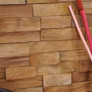 Leroy Merlin Plaquette De Parement : parement de salle de bain rev tement de mur en bois ~ Dailycaller-alerts.com Idées de Décoration