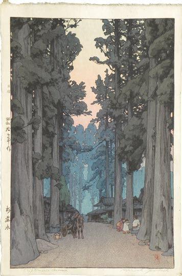 scholten japanese art woodblock prints hiroshi yoshida
