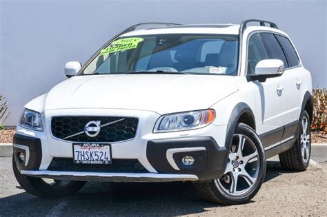pre owned  volvo xc  platinum station wagon