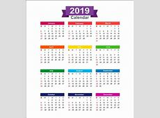Get Template Of 2019 Calendar Kuwait Holiday Printable