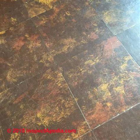 identify uk floor tiles    asbestos
