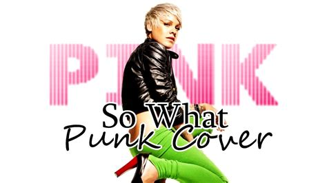 So What ( Punk Cover )