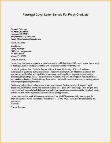 resume sle aplication leter application letter graduate 28 images cover letter for