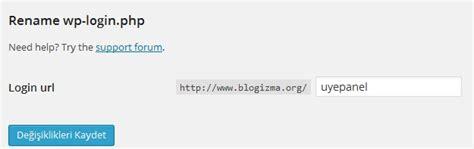 Rename Wp-login Eklentisi Kurulumu Ve Ayarları